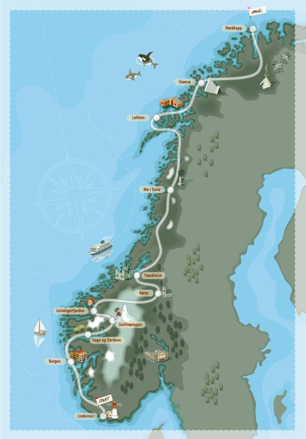 Camping Karta Europa.Camping Norge Karta