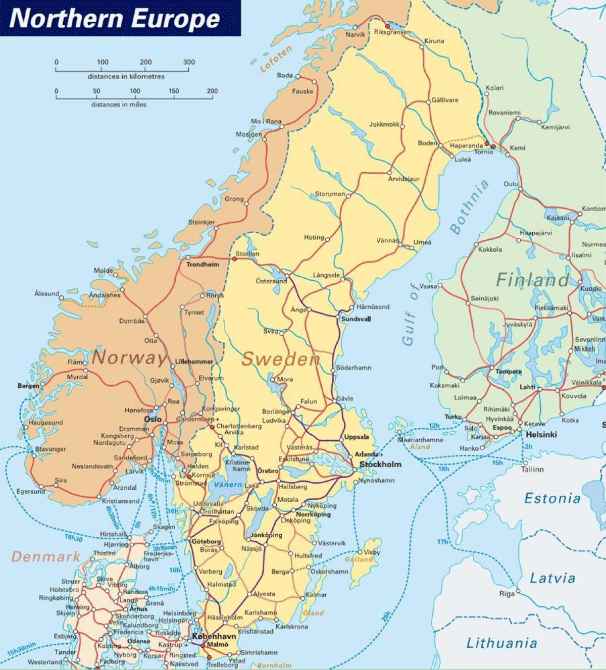 Narvik Norge Karta Karta Narvik Norge Norra Europa Europa