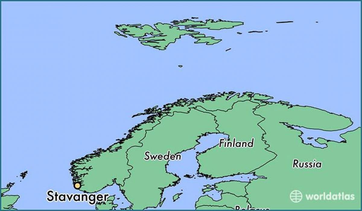 Karta Norge Stavanger.Stavanger Norge Karta Karta Stavanger Norge Norra Europa Europa